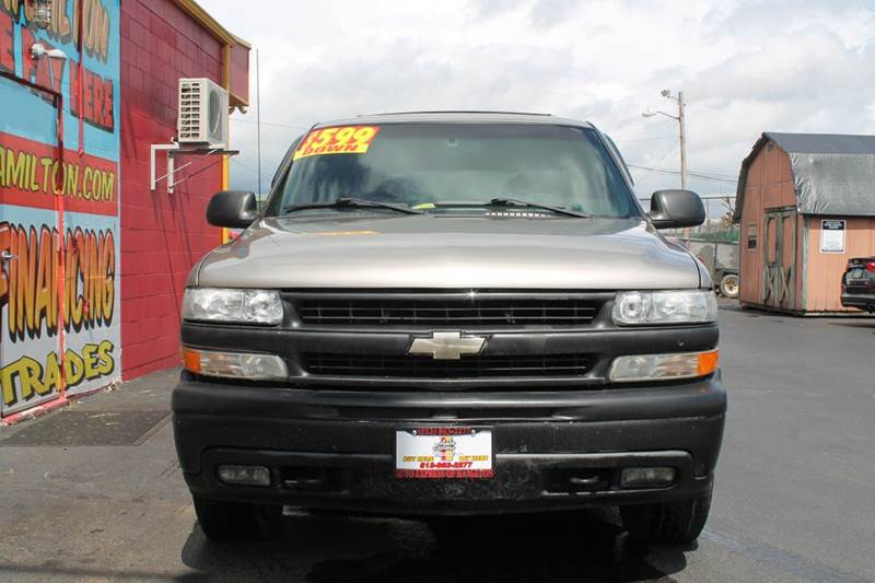 2002 Chevrolet Tahoe 4dr 4WD SUV - Hamilton OH
