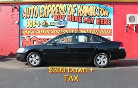 2006 Chevrolet Impala for sale in Hamilton, OH