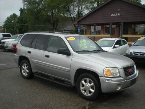 2004 gmc envoy for sale michigan. Black Bedroom Furniture Sets. Home Design Ideas