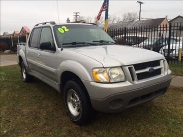 2002 Ford Explorer Sport Trac for sale in Taylor, MI