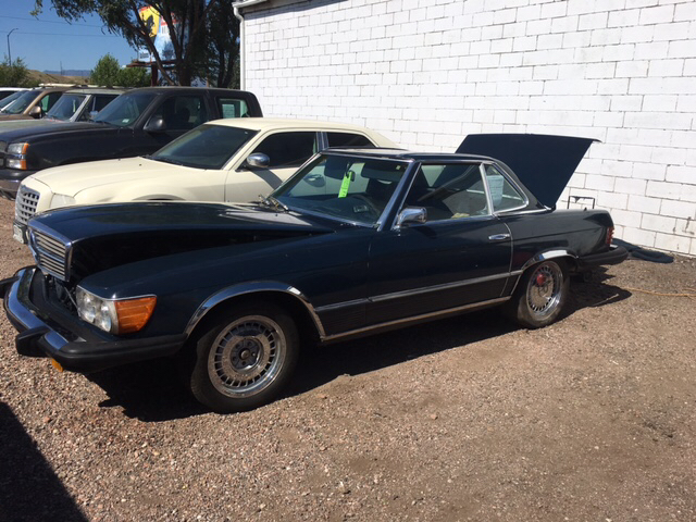 1975 mercedes benz 450 sl hard top convertible in pueblo for 1975 mercedes benz 450sl convertible