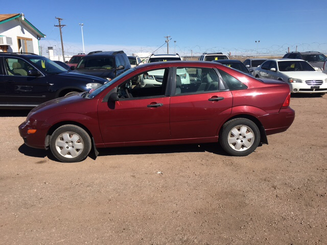 2007 ford focus zx4 se 4dr sedan in pueblo co pyramid. Black Bedroom Furniture Sets. Home Design Ideas