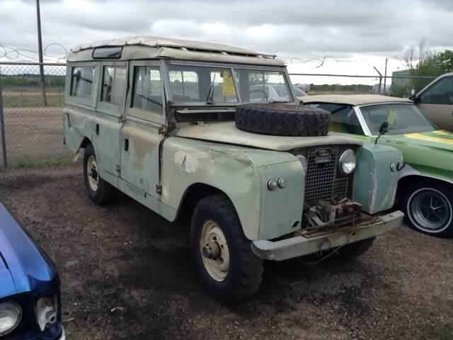 1966 Land Rover 109 Series 2 A Safari Wagon