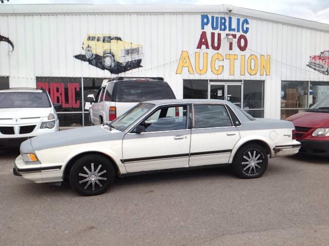 1989 buick century custom 4dr sedan pueblo co. Black Bedroom Furniture Sets. Home Design Ideas