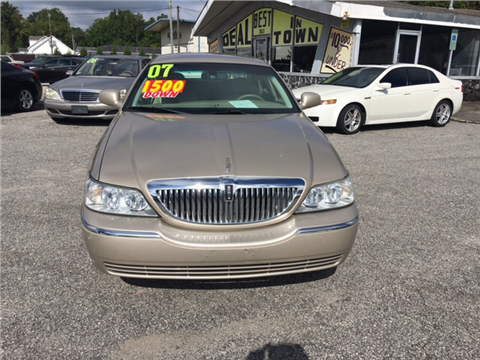 2007 Lincoln Town Car for sale in Wilmington, NC