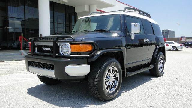 Used 2007 Toyota Fj Cruiser Base 4dr Suv 4wd 4l V6 6m In
