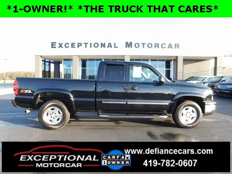 Chevrolet Used Cars Pickup Trucks For Sale Defiance Exceptional ...