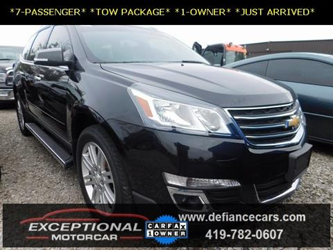 2015 Chevrolet Traverse for sale in Defiance, OH