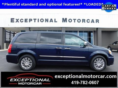 2015 Chrysler Town and Country for sale in Defiance, OH
