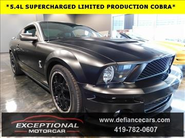 2009 Ford Shelby GT500 for sale in Defiance, OH