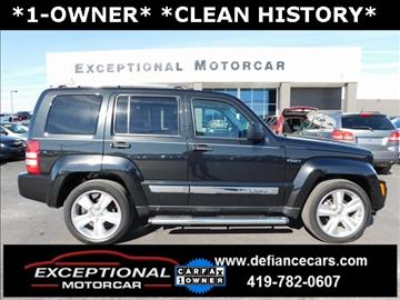 2012 Jeep Liberty for sale in Defiance, OH
