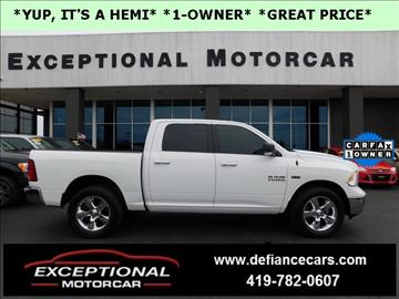 2015 RAM Ram Pickup 1500 for sale in Defiance, OH