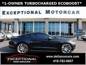 2015 Ford Mustang for sale in Defiance, OH