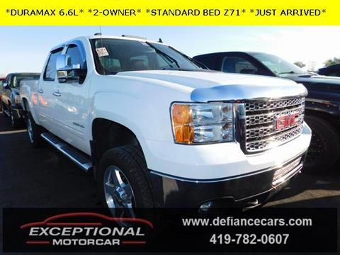 2011 GMC Sierra 2500HD for sale in Defiance, OH