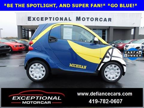 2012 Smart fortwo for sale in Defiance, OH