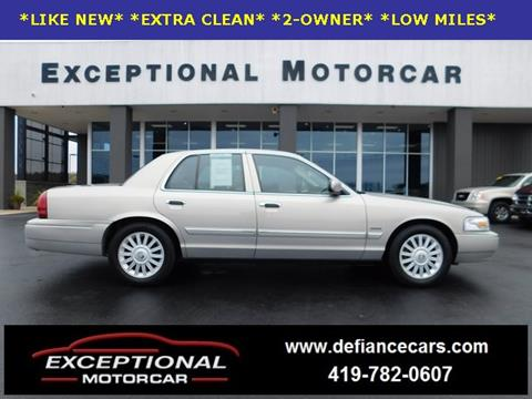 2009 Mercury Grand Marquis for sale in Defiance, OH