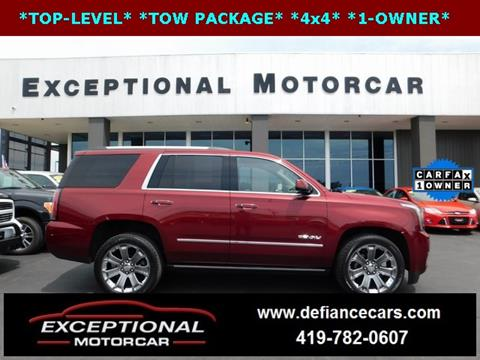 2016 GMC Yukon for sale in Defiance, OH