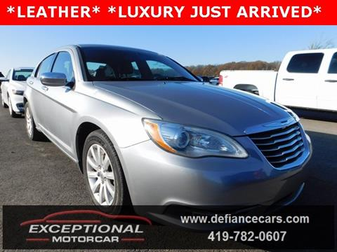 2014 Chrysler 200 for sale in Defiance, OH
