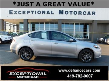 2016 Dodge Dart for sale in Defiance, OH