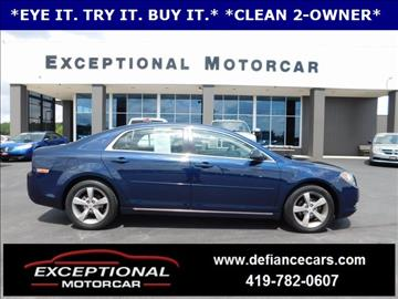 2011 Chevrolet Malibu for sale in Defiance, OH