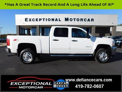 2011 Chevrolet Silverado 2500HD for sale in Defiance, OH