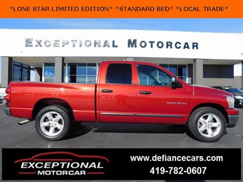 2007 Dodge Ram Pickup 1500 for sale in Defiance, OH