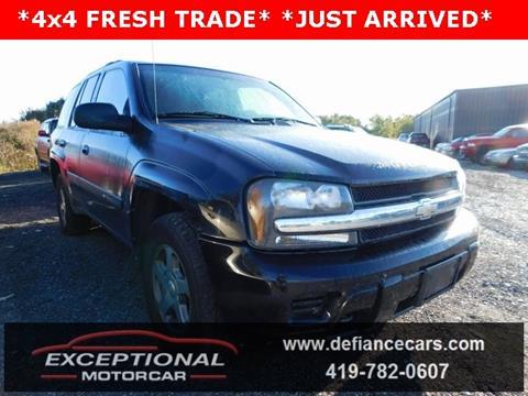 2004 Chevrolet TrailBlazer for sale in Defiance, OH