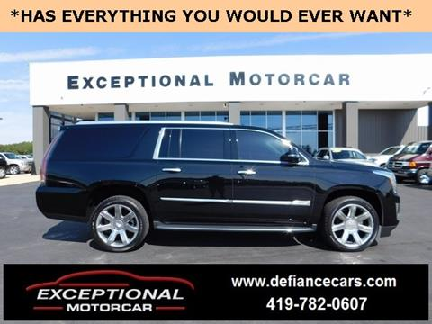 2016 Cadillac Escalade ESV for sale in Defiance, OH