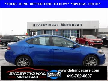 2014 Dodge Dart for sale in Defiance, OH