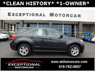 2013 Chevrolet Equinox for sale in Defiance, OH