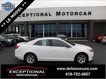 2013 Chevrolet Malibu for sale in Defiance, OH