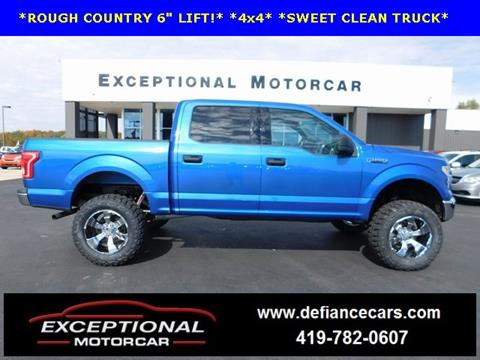 2015 Ford F-150 for sale in Defiance, OH