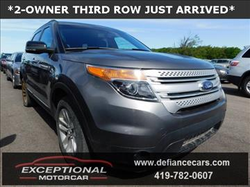 2012 Ford Explorer for sale in Defiance, OH