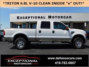 2009 Ford F-250 Super Duty for sale in Defiance, OH