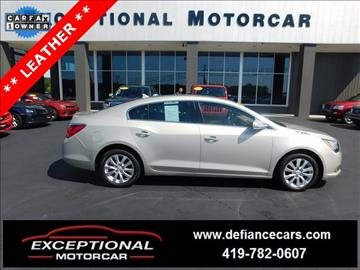 2014 Buick LaCrosse for sale in Defiance, OH