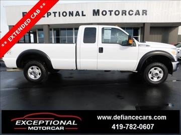 2011 Ford F-250 Super Duty for sale in Defiance, OH