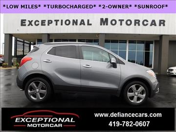 2014 Buick Encore for sale in Defiance, OH