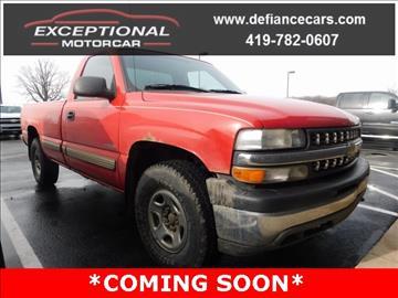 2001 Chevrolet Silverado 1500 for sale in Defiance, OH