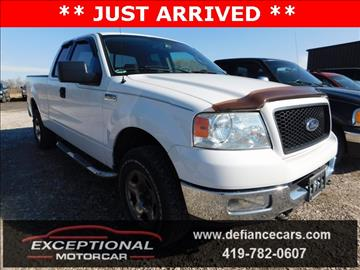 2004 Ford F-150 for sale in Defiance, OH