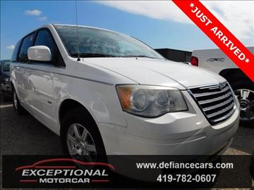 2008 Chrysler Town and Country for sale in Defiance, OH