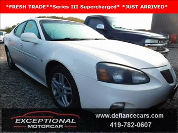 2006 Pontiac Grand Prix for sale in Defiance, OH