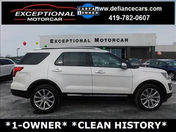 2016 Ford Explorer for sale in Defiance, OH