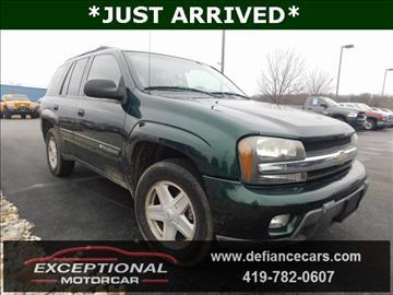 2003 Chevrolet TrailBlazer for sale in Defiance, OH