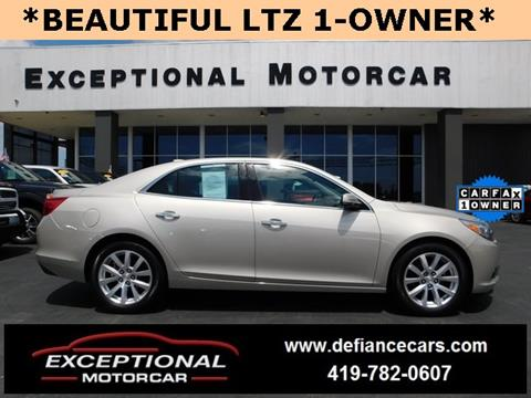 2016 Chevrolet Malibu Limited for sale in Defiance, OH