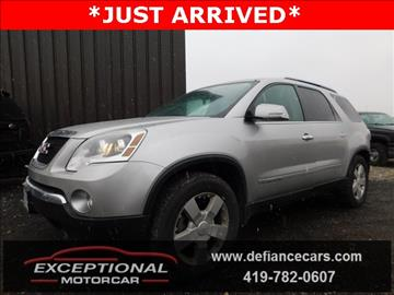 2007 GMC Acadia for sale in Defiance, OH