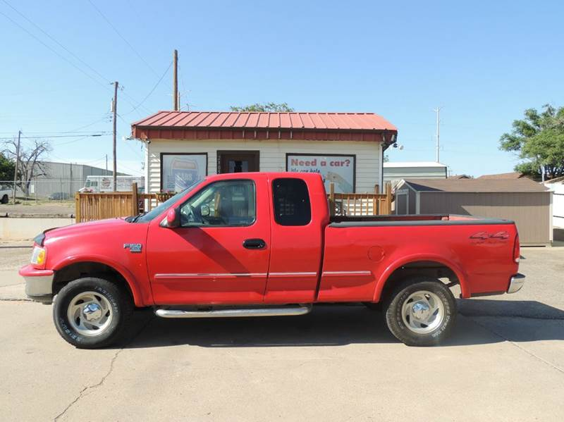 1998 ford f 150 xlt 3dr 4wd extended cab sb in amarillo tx. Black Bedroom Furniture Sets. Home Design Ideas