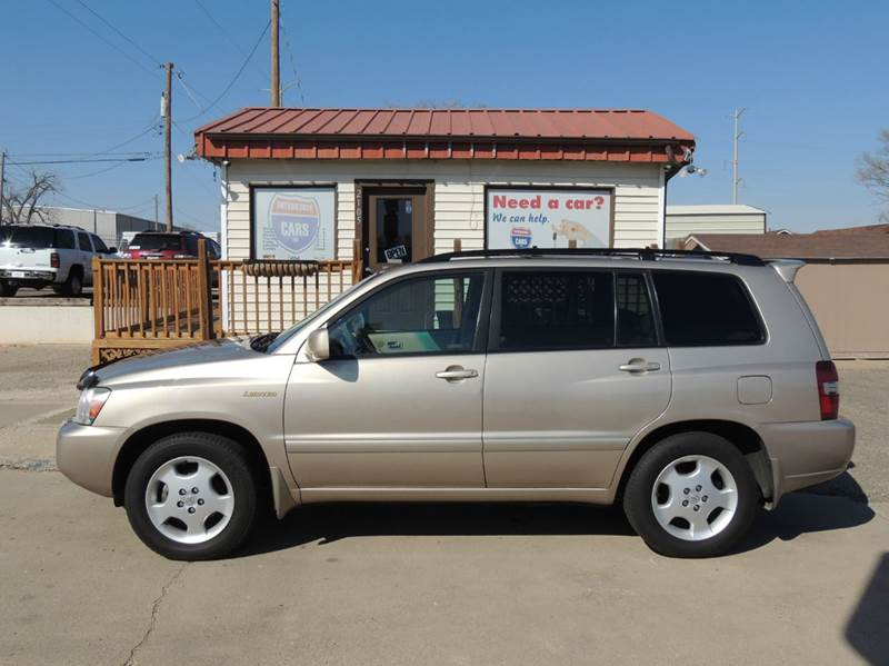 2005 toyota highlander limited 4dr suv w 3rd row in amarillo tx interstate cars llc. Black Bedroom Furniture Sets. Home Design Ideas