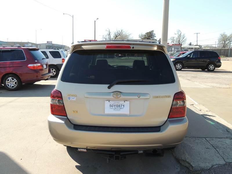 2005 Toyota Highlander Limited 4dr SUV w/3rd Row - Amarillo TX