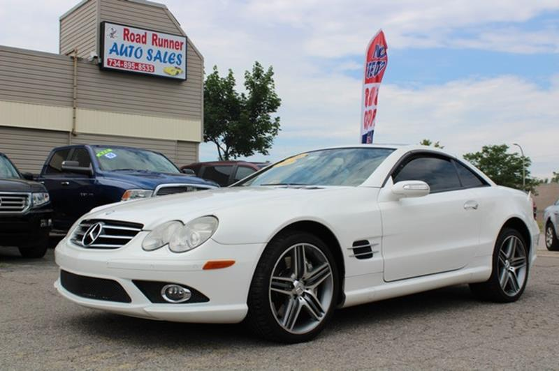 used 2007 mercedes benz sl class for sale in michigan