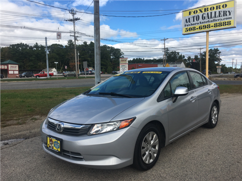 2012 Honda Civic for sale in Foxboro, MA